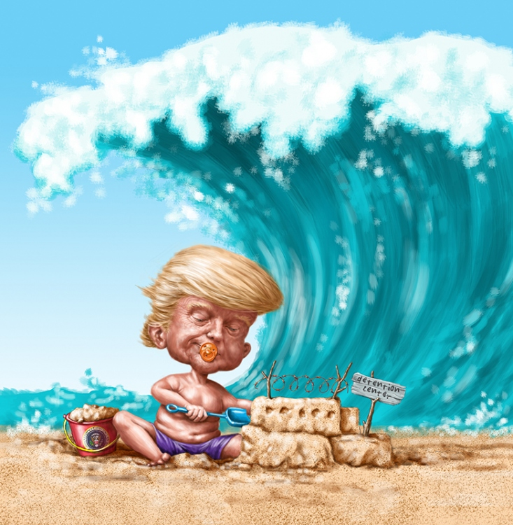 Trump-and-the-Blue-Wave