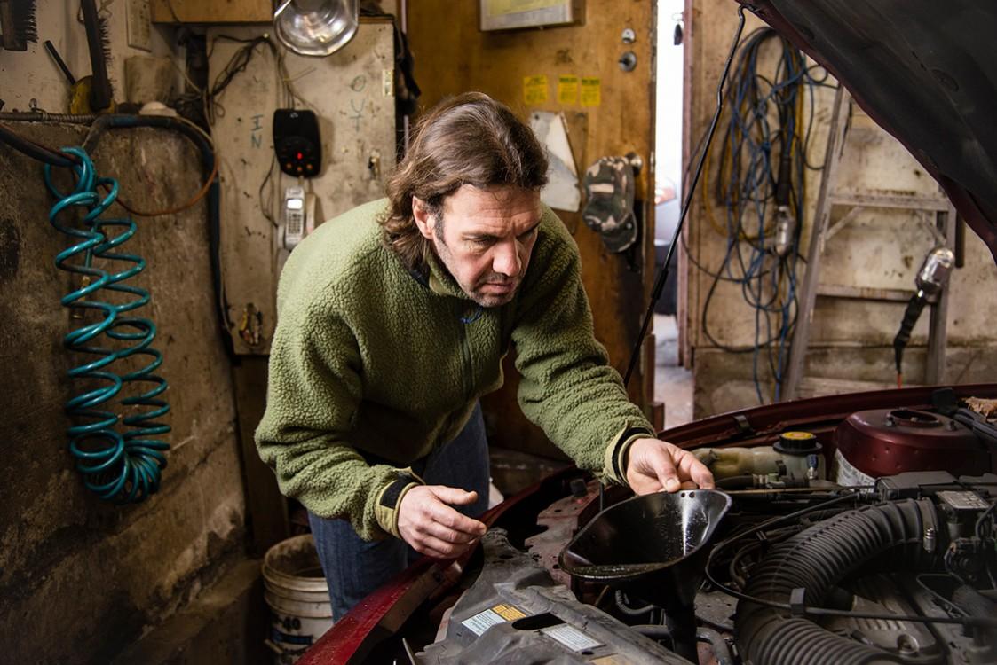 Home Garage Mechanic